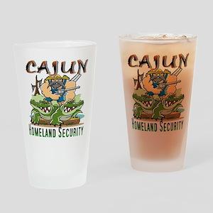 Cajun Homeland Security Drinking Glass