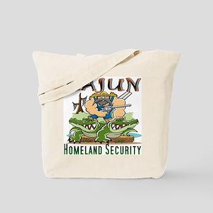 Cajun Homeland Security Tote Bag