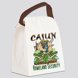 Cajun Homeland Security Canvas Lunch Bag