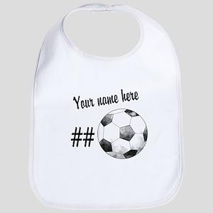 Soccer Art Bib