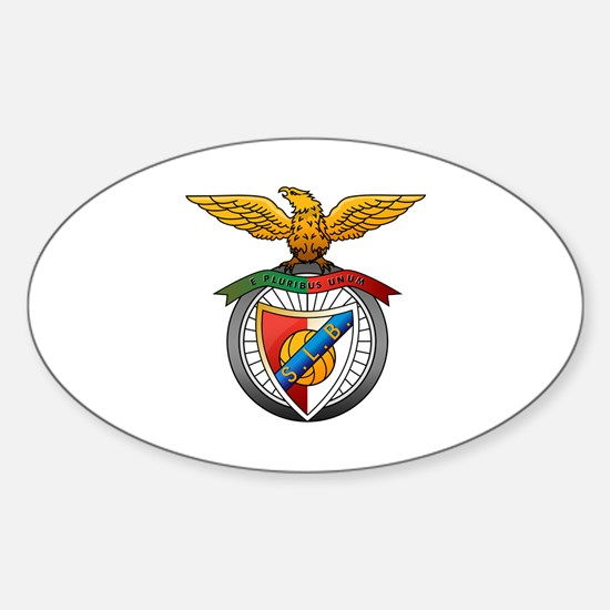 Unique Lisboa Sticker (Oval)