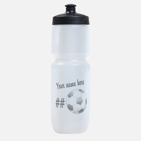 Soccer Art Sports Bottle