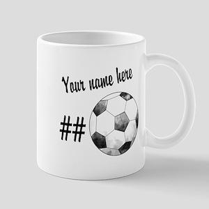Soccer Art Mugs