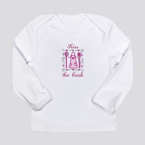 Kiss The Cook Long Sleeve T-Shirt