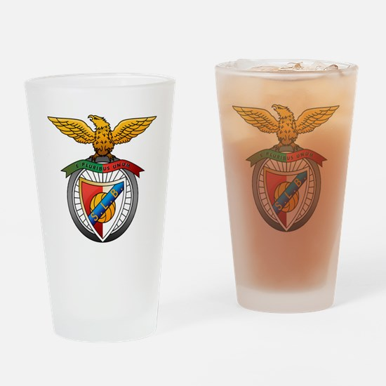 Cute Benfica Drinking Glass