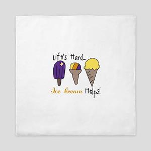 Ice Cream Helps Queen Duvet