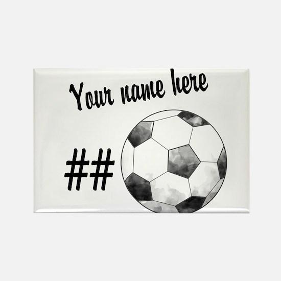 Soccer Art Magnets