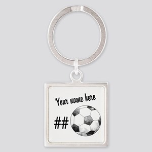 Soccer Art Keychains