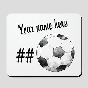 Soccer Art Mousepad