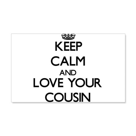 Keep Calm And Love Your Cousin Wall Decal By Foodshirts