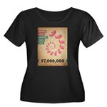 Fifty Seven Million Abortions Plus Size T-Shirt