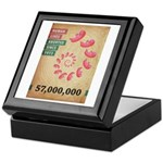 Fifty Seven Million Abortions Keepsake Box