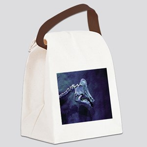 Dino Canvas Lunch Bag