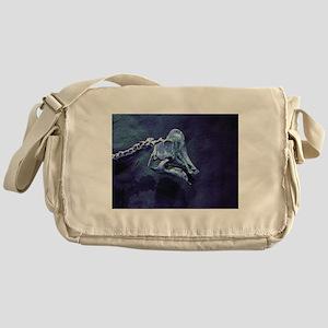 Dino Messenger Bag