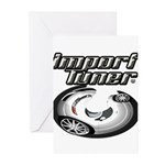 Import Tuner Greeting Cards