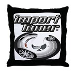 Import Tuner Throw Pillow