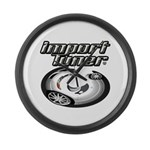 Import Tuner Large Wall Clock