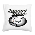 Import Tuner Square Canvas Pillow
