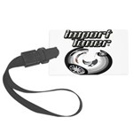 Import Tuner Large Luggage Tag