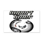 Import Tuner Decal Wall Sticker