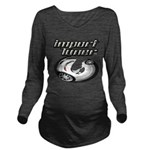 Import Tuner Long Sleeve Maternity T-Shirt
