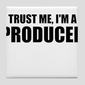 Trust Me, I'm A Producer Tile Coaster
