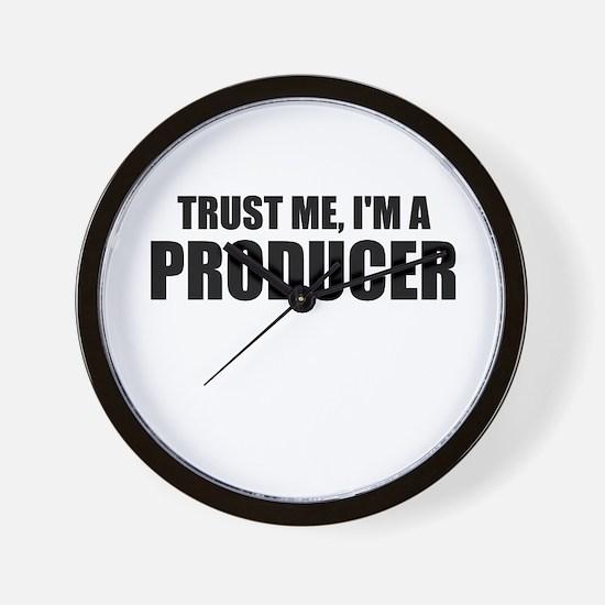 Trust Me, I'm A Producer Wall Clock