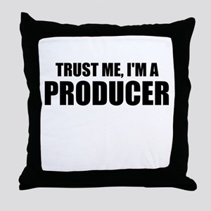 Trust Me, I'm A Producer Throw Pillow