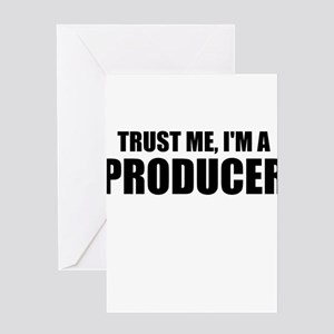 Trust Me, I'm A Producer Greeting Cards