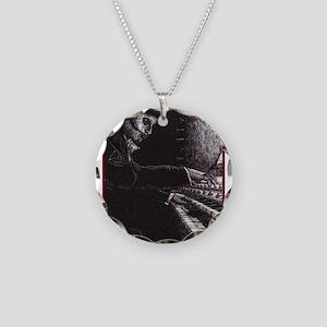 'Requiem' Necklace Circle Charm