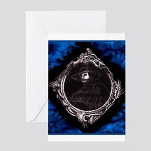 Phantom (Blue) ~ Greeting Card