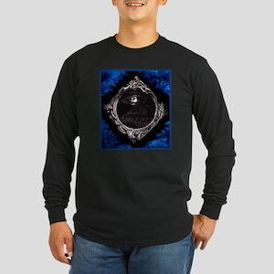 Phantom (Blue) ~ Long Sleeve Dark T-Shirt