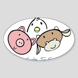 Too_Cute copy Sticker