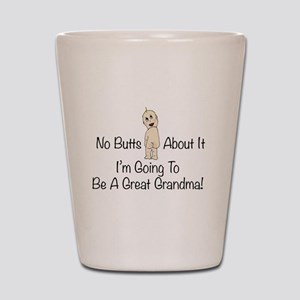 Baby Butt Great Grandma To Be Shot Glass