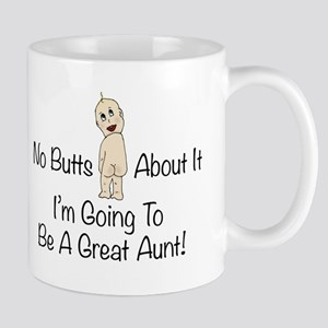 Baby Butt Great Aunt To Be Mugs