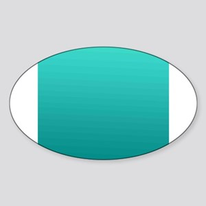 Turquoise to teal gradient Sticker