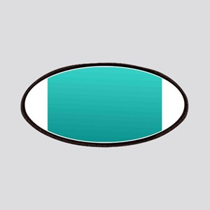 Turquoise to teal gradient Patches