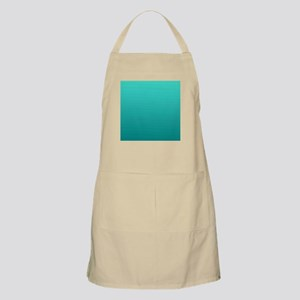 Turquoise to teal gradient Apron