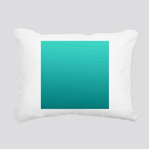 Turquoise to teal gradient Rectangular Canvas Pill