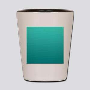 Turquoise to teal gradient Shot Glass