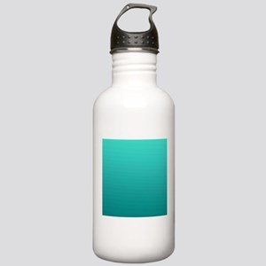 Turquoise to teal gradient Water Bottle