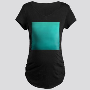 Turquoise to teal gradient Maternity T-Shirt
