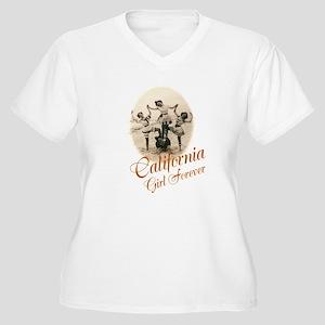 California Girl Forever Plus Size T-Shirt