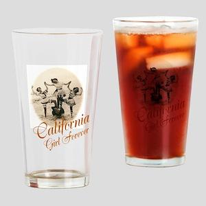 California Girl Forever Drinking Glass