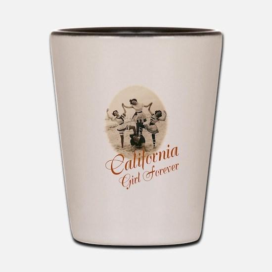 California Girl Forever Shot Glass