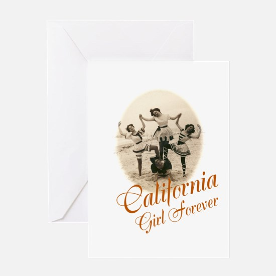 California Girl Forever Greeting Cards