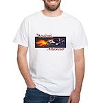 Racin' Mason Bikers White T-Shirt