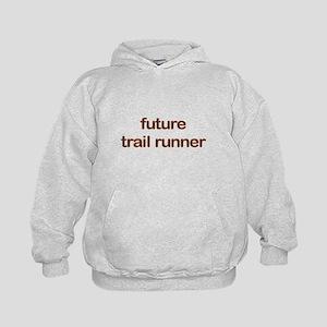 Future Trailrun Orange Kids Hoodie