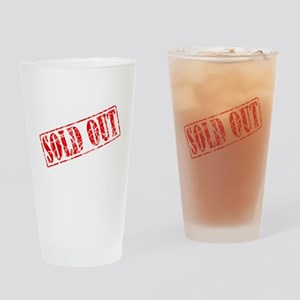 Sold Out Drinking Glass