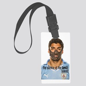 luis suarez Large Luggage Tag